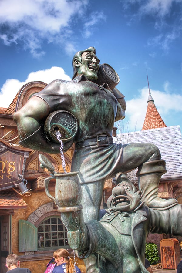 Gaston's Tavern at Disney World Magic Kingdom