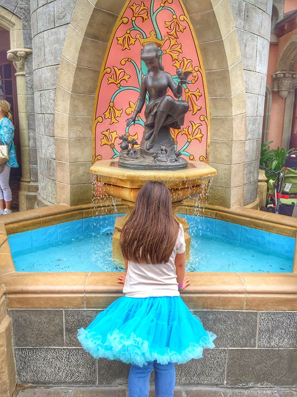 Cinderella's Drinking Fountain at Disney World Magic Kingdom