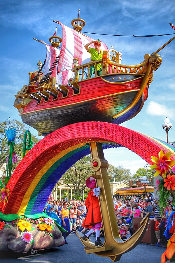 Festival of Fantasy Parade at Disney World
