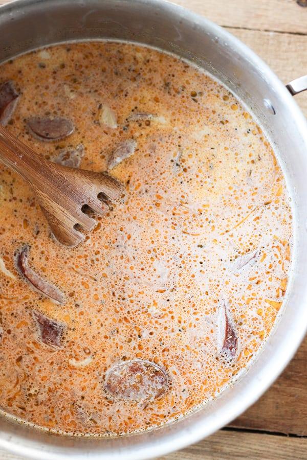 How to make cajun chicken alfredo