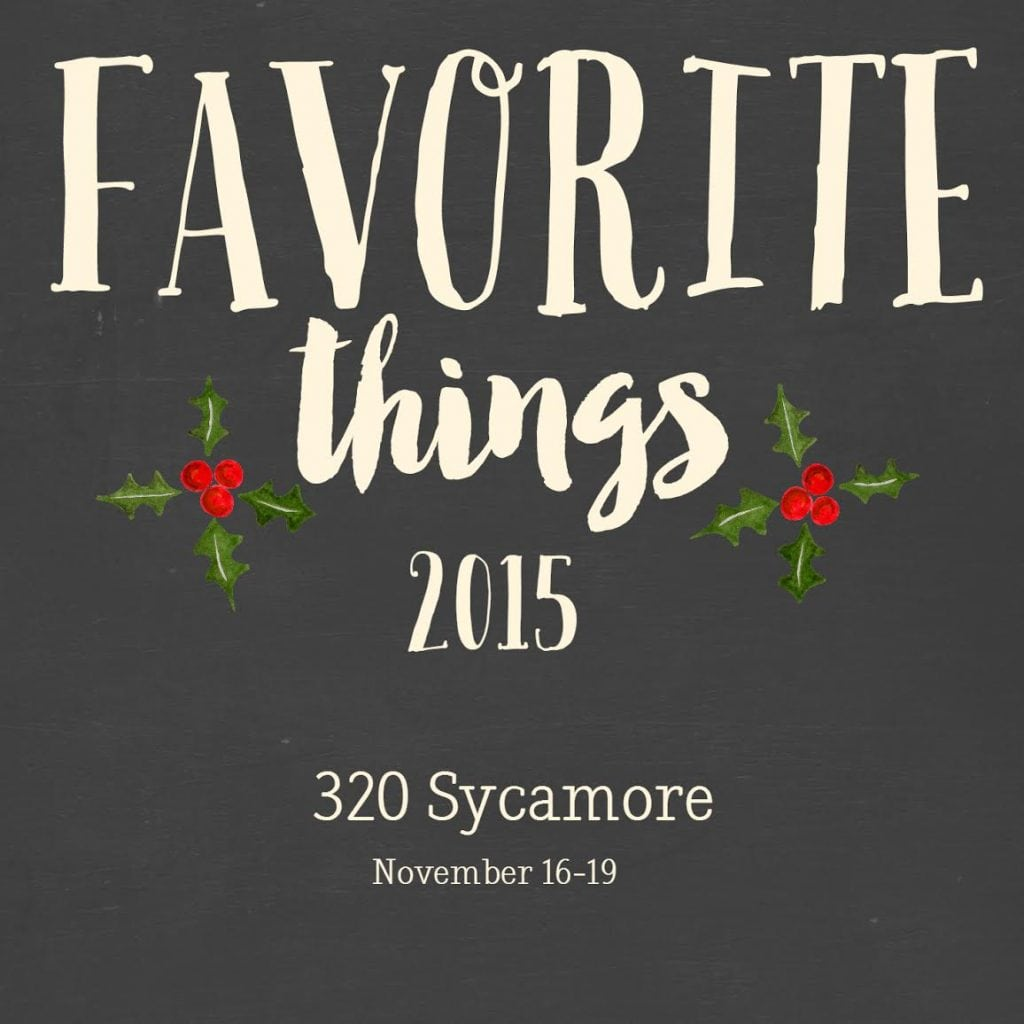 Favorite Things 2015