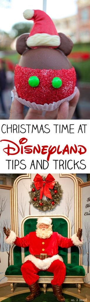 Disneyland Christmas Tips and Tricks