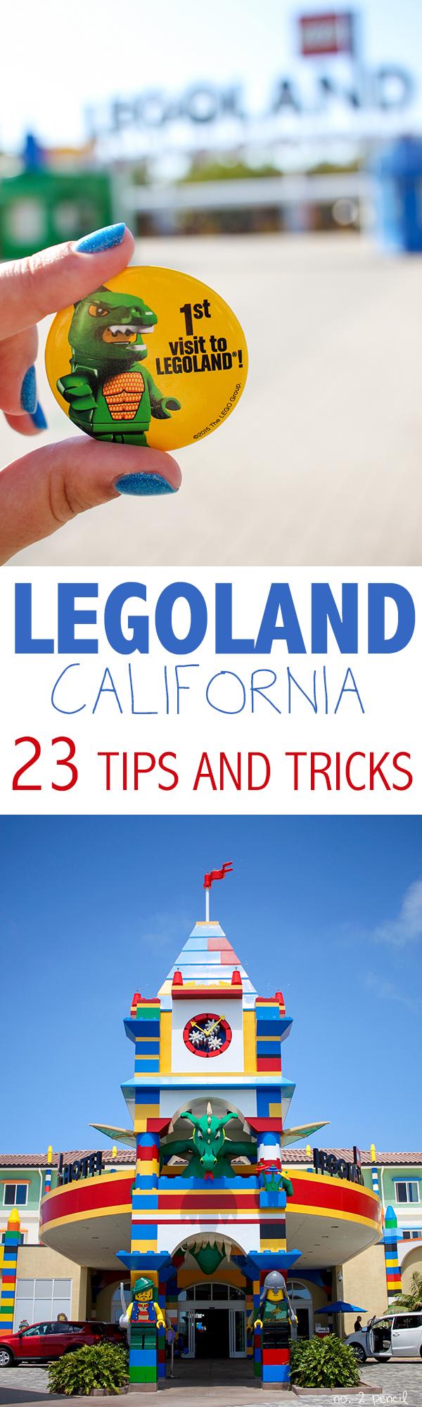 Legoland California Tips And Tricks No 2 Pencil