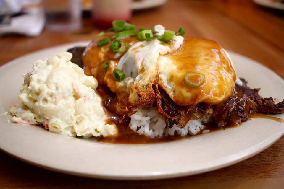 Loco Moco from Aloha Mixed Plate in Maui