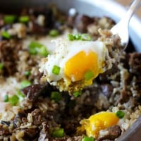 One Pot Hawaiian Loco Moco