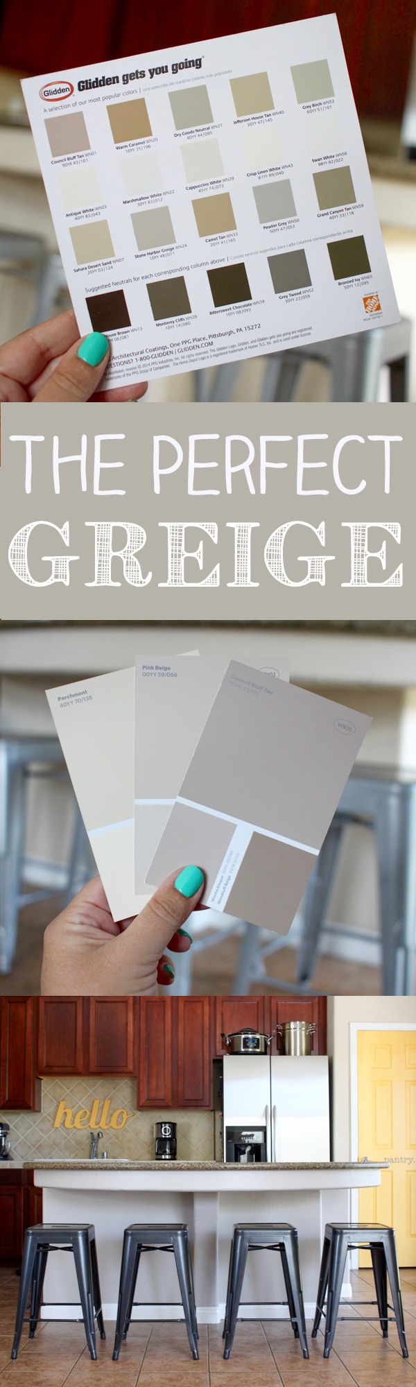 The Perfect Greige Paint Color