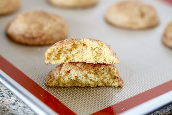 Pumpkin Snickerdoodle Cookies-11
