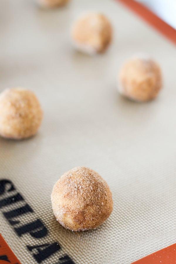 Pumpkin Snickerdoodle Cookies-7