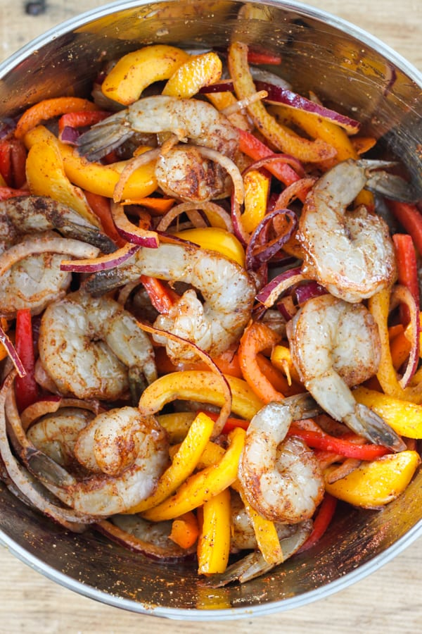 Shrimp Fajita Recipe