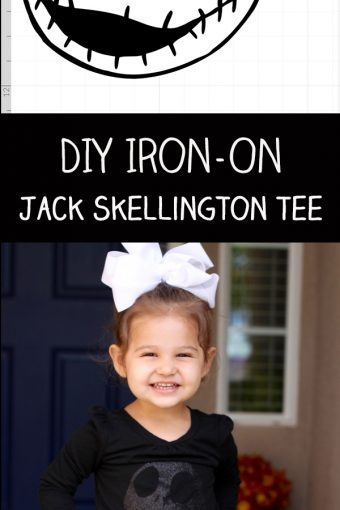 DIY Jack Skellington Iron On Vinyl Tee with Cricut Explore Air 2 Review