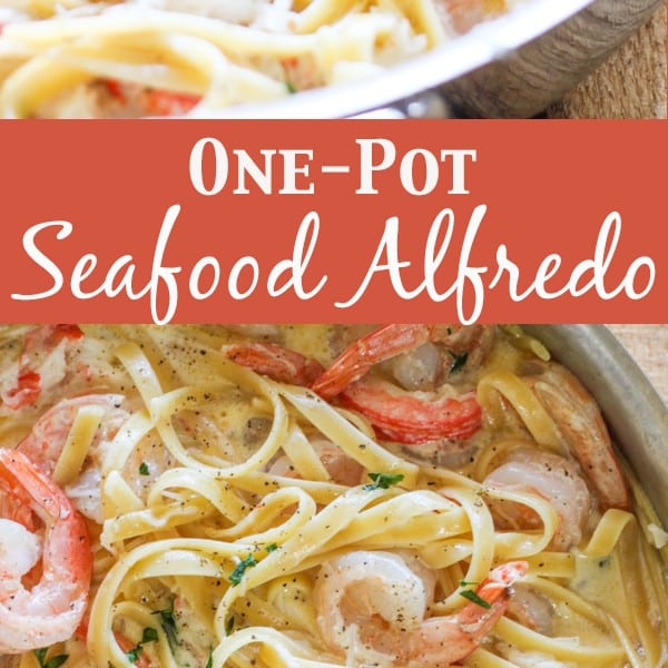 One-Pot Seafood Alfredo