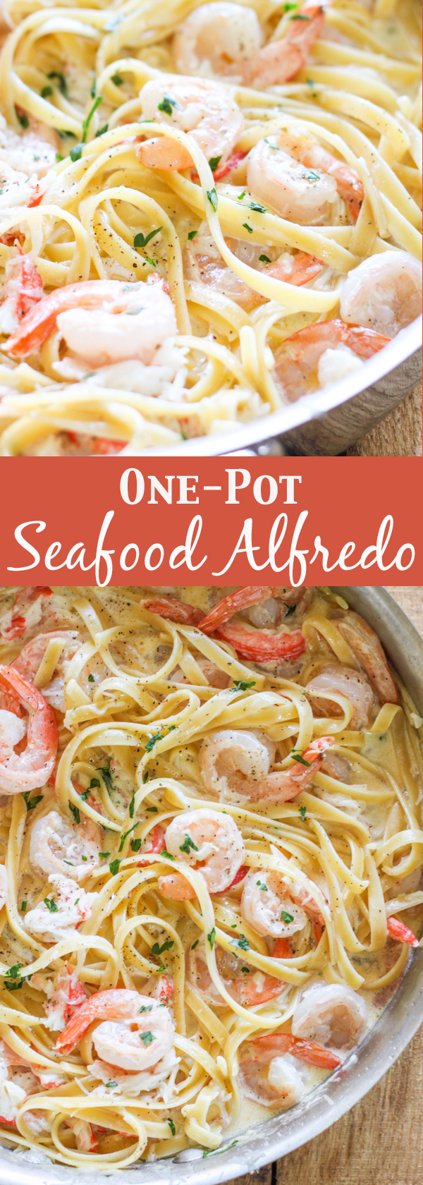 One Pot Seafood Alfredo No 2 Pencil