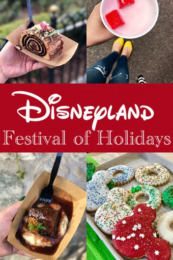 Disneyland Festival of Holidays at California Adventure Park