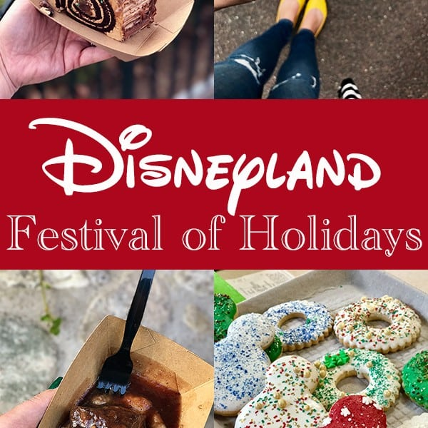 Disneyland Festival of Holidays at California Adventure Park