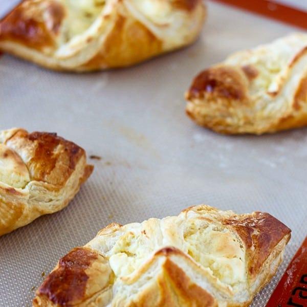 Easy Cream Cheese Danishes