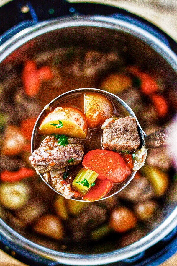 Instant Pot Beef Stew No 2 Pencil