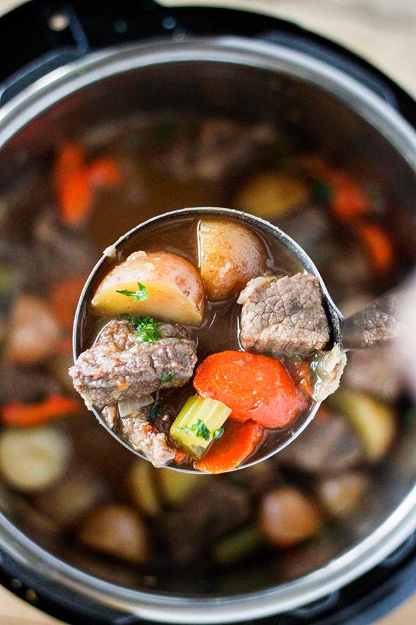 Instant Pot Pressure Cooker Beef Stew - No. 2 Pencil