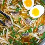 Instant Pot Pressure Cooker Ramen Soup-6