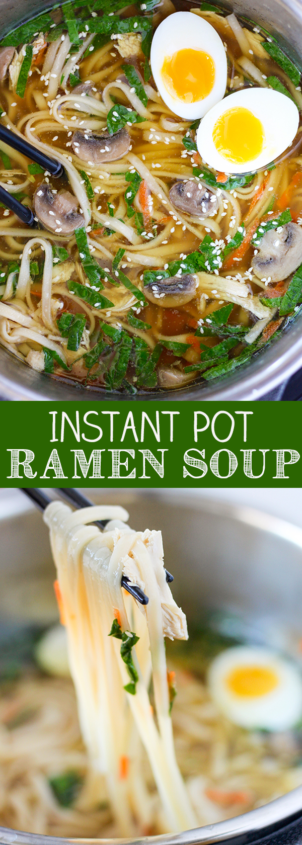 Instant Pot Pressure Cooker Ramen Soup No 2 Pencil