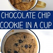 Chocolate Chip Cookie in a Cup Pin