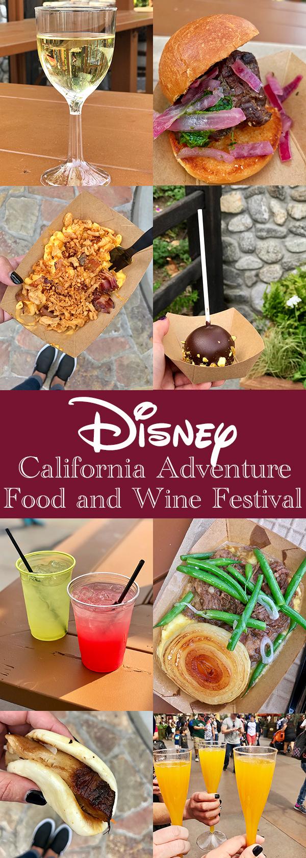 Disney California Adventure Food and Wine Festival