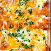 Instant Pot Pressure Cooker Chicken Enchiladas-10