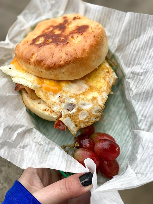 Disneyland Buttermilk Biscuit Sandwich