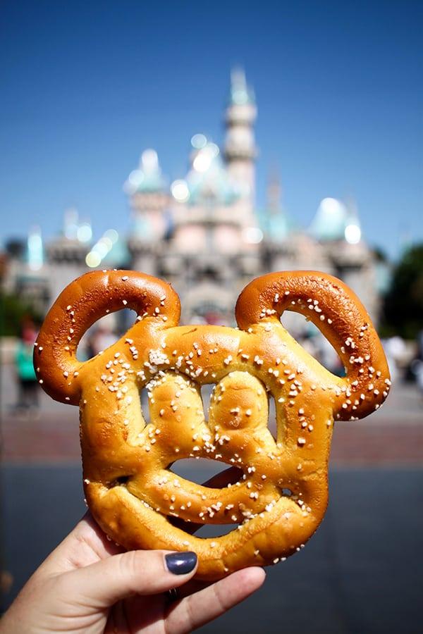 Disneyland Mickey Pretzel