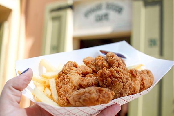 Disneyland Chicken Breast Nuggets
