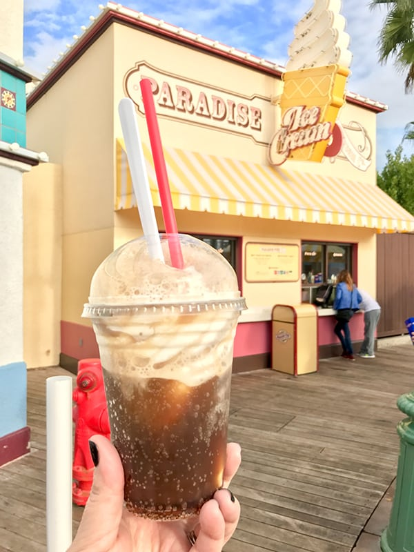 Disneyland Rootbeer Float