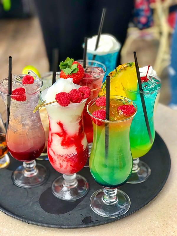 Disneyland Secret Menu Drinks at Cove Bar