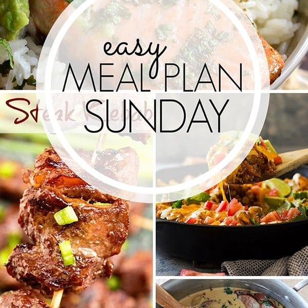 Easy Meal Plan Menu – Week Two