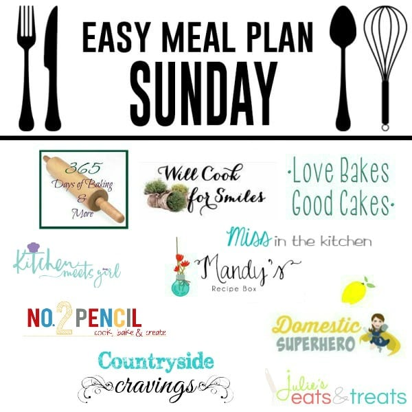 Easy-Meal-Plan-Sunday 1