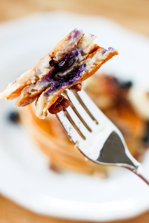 Skinny One Point Pancakes - each pancake is just 40 calories and 1 Weight Watchers Smart Point.