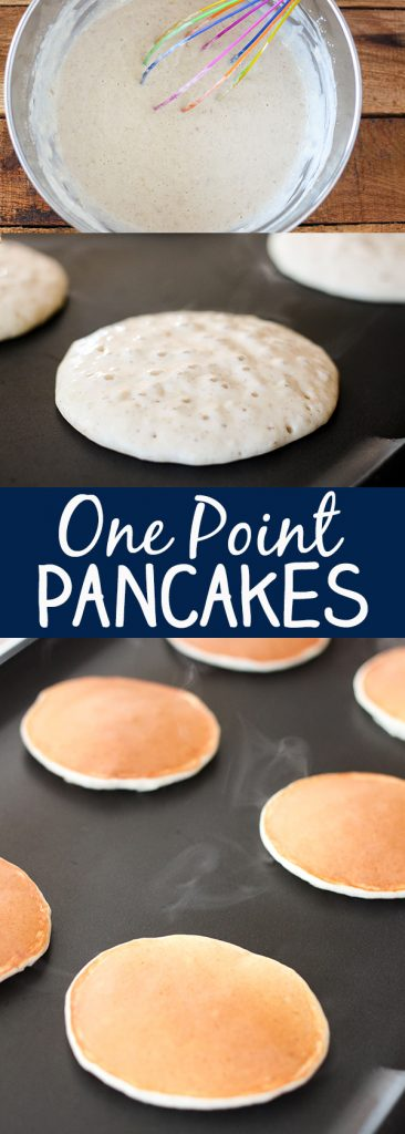 kid approved valentine's day meals - Skinny e Point Weight Watcher Pancakes No 2 Pencil