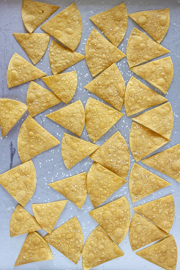 Two Point Tortillas Chips - Easy Baked Tortillas Chips
