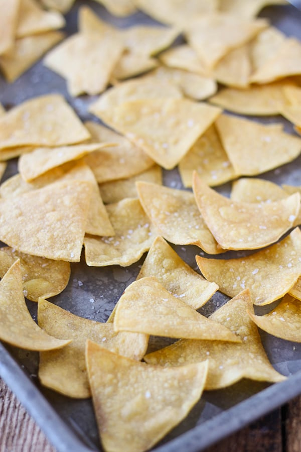 2 Point Tortilla Chips - Easy Baked Tortilla Chips-6