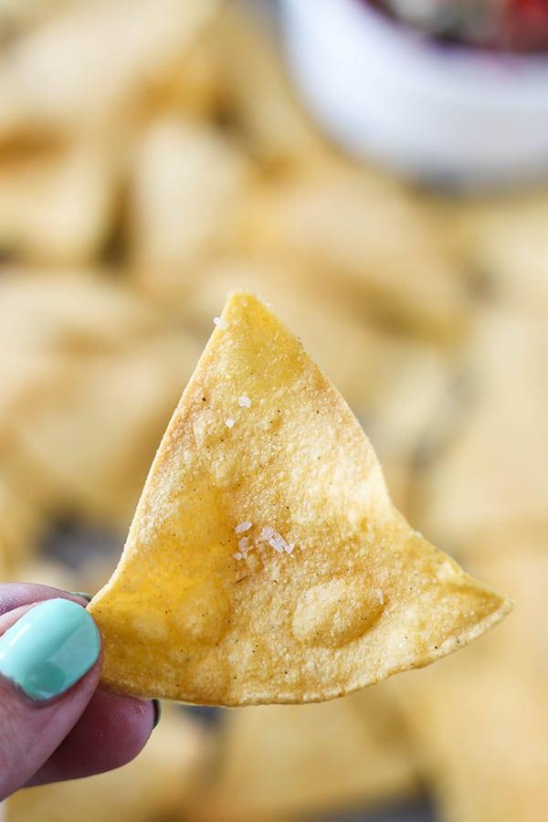 2 Point Tortilla Chips - Easy Baked Tortilla Chips-7