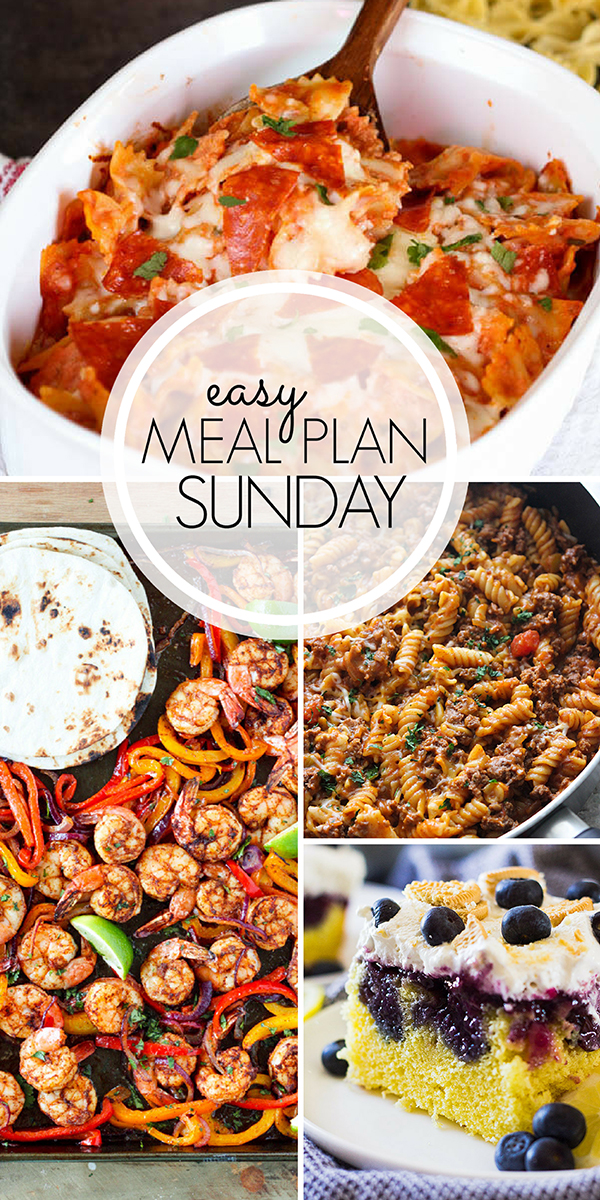 Delicious ideas for weekly meal planning.