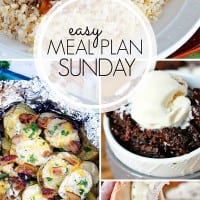 Easy Meal Plan Long Collage copy