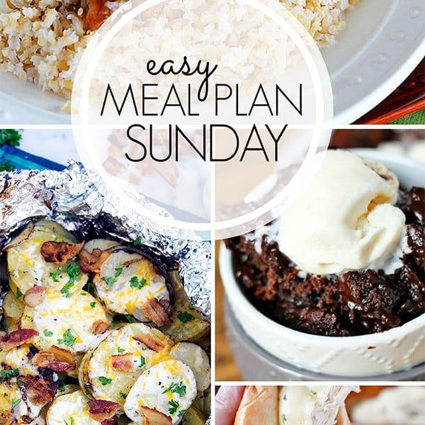 Easy Weekly Meal Plan – Week 5