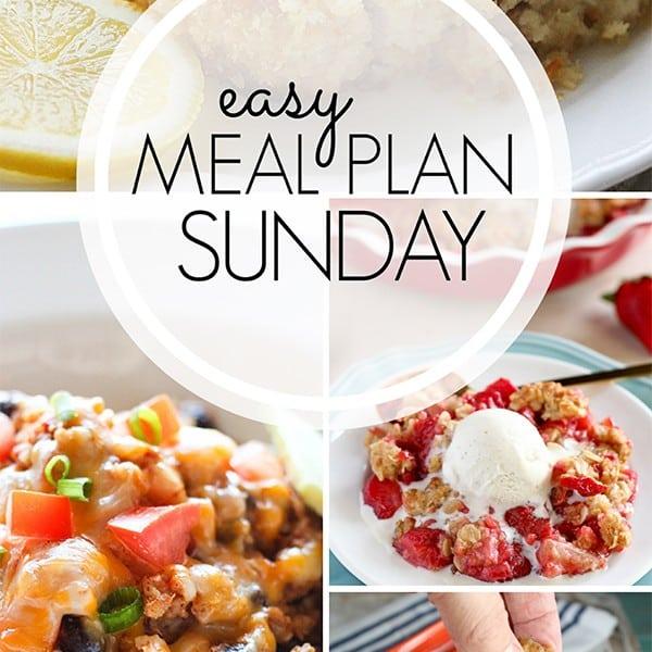 Easy Weekly Meal Plan – Week 4