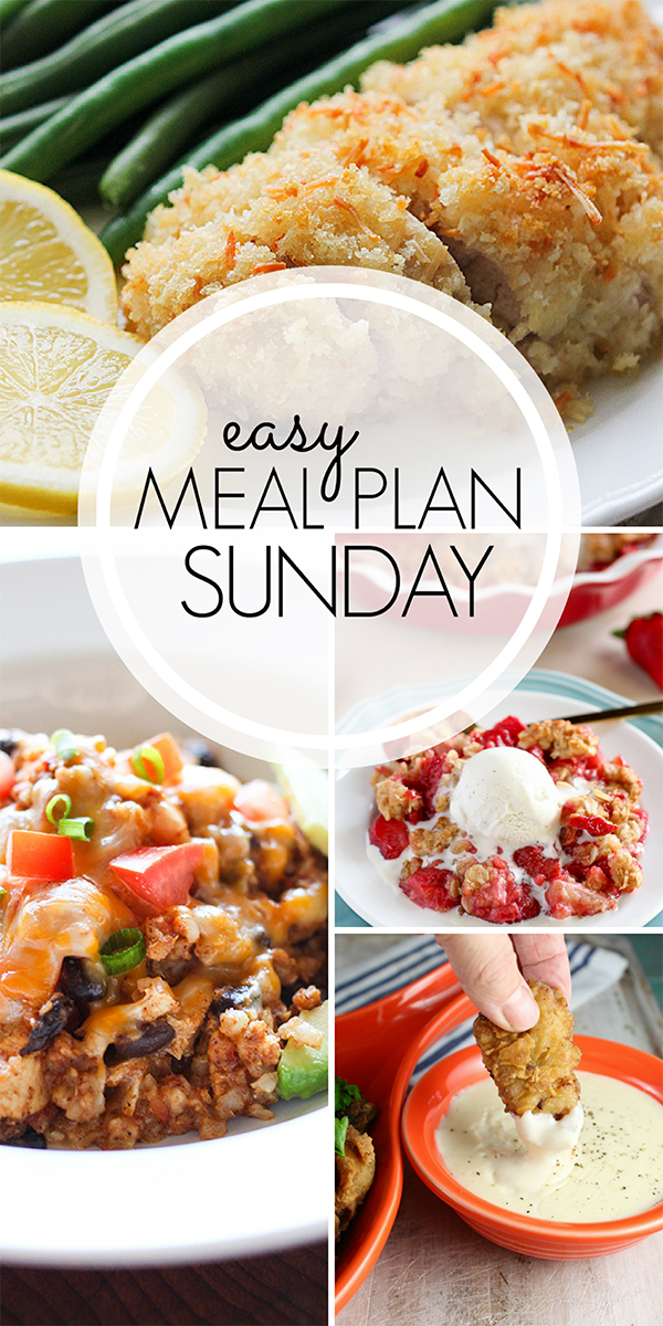 Easy Weekly Meal Plan - delicious dinner ideas!