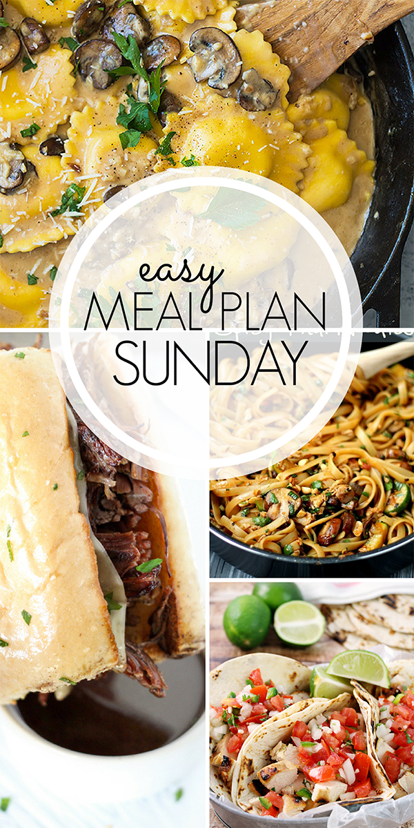 Easy Weekly Meal Plan Ideas
