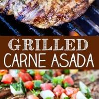 Grilled Carne Asada Pin
