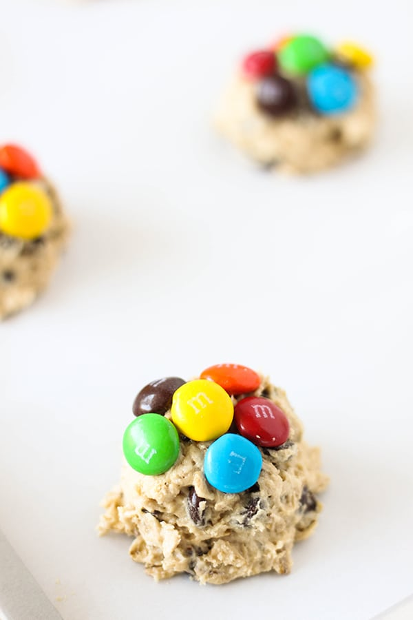 Oatmeal Chocolate Chip M&M'S Cookies-3