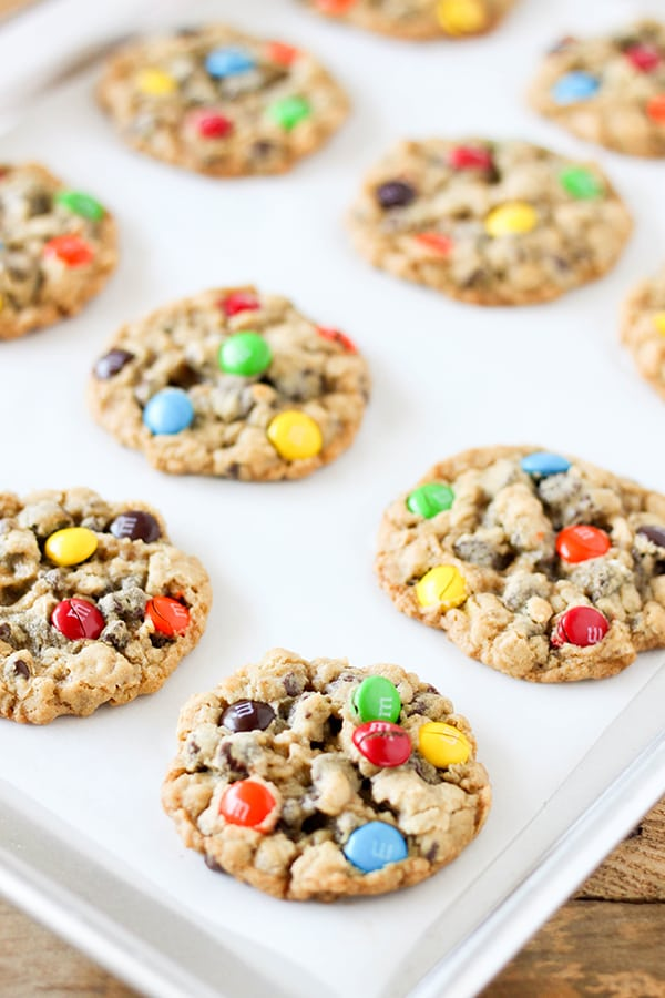 Oatmeal Chocolate Chip M&M'S Cookies-4