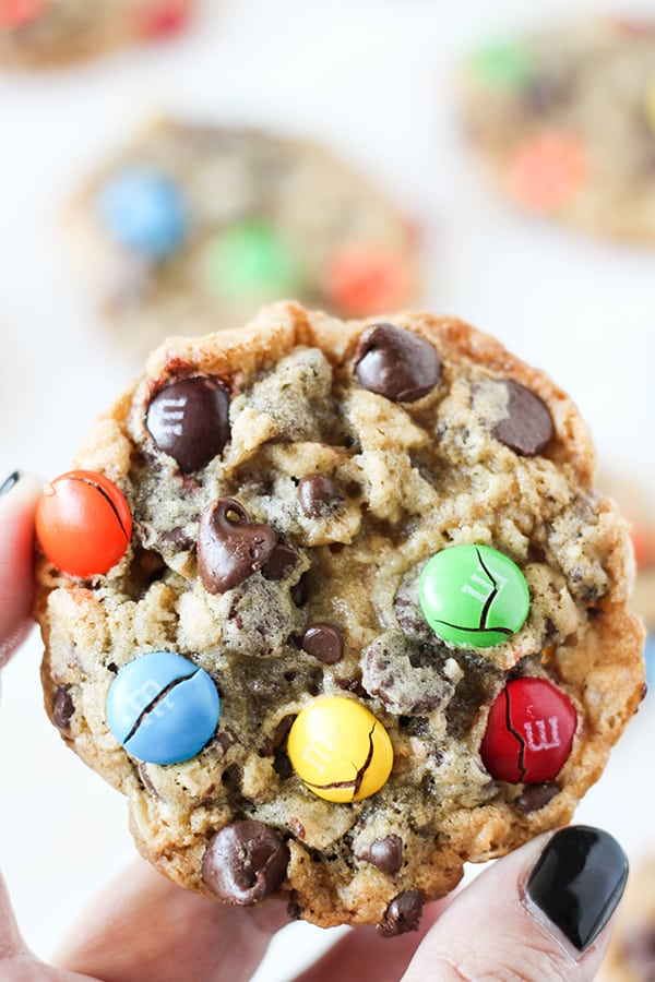 Oatmeal Chocolate Chip M&M'S Cookies-6