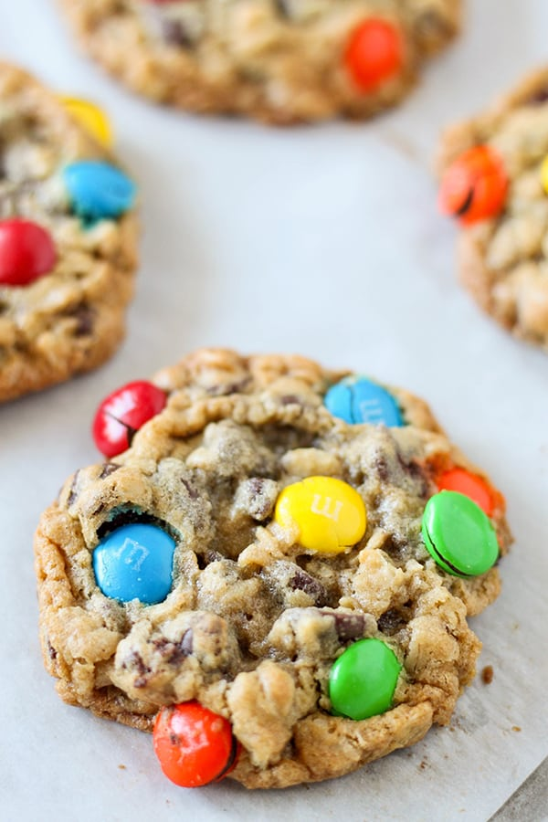 Oatmeal Chocolate Chip M&M'S Cookies-9