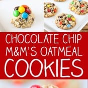 Oatmeal Chocolate Chip M&M'S Cookies Pin 2